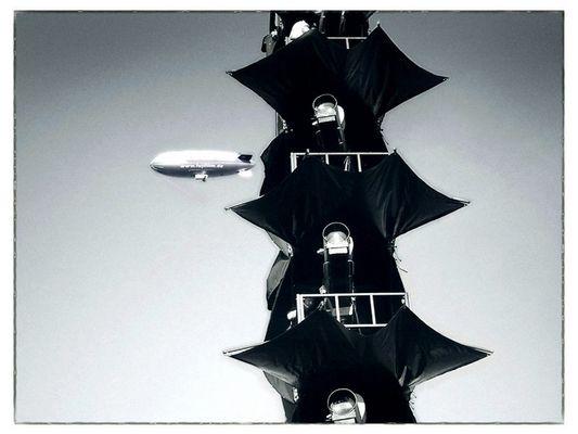 Beamer-Turm