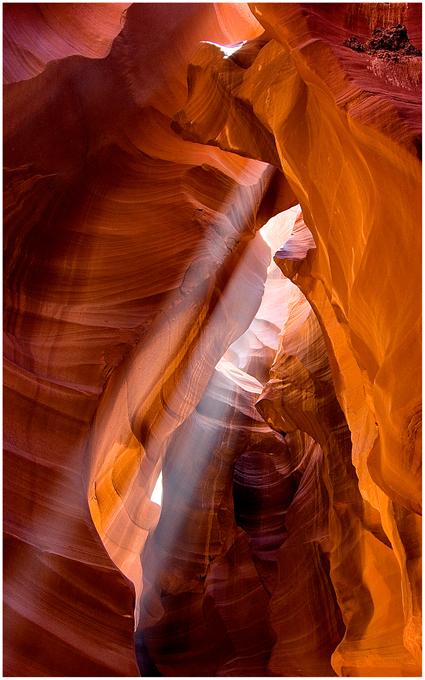 Beams im Antelope Canyon