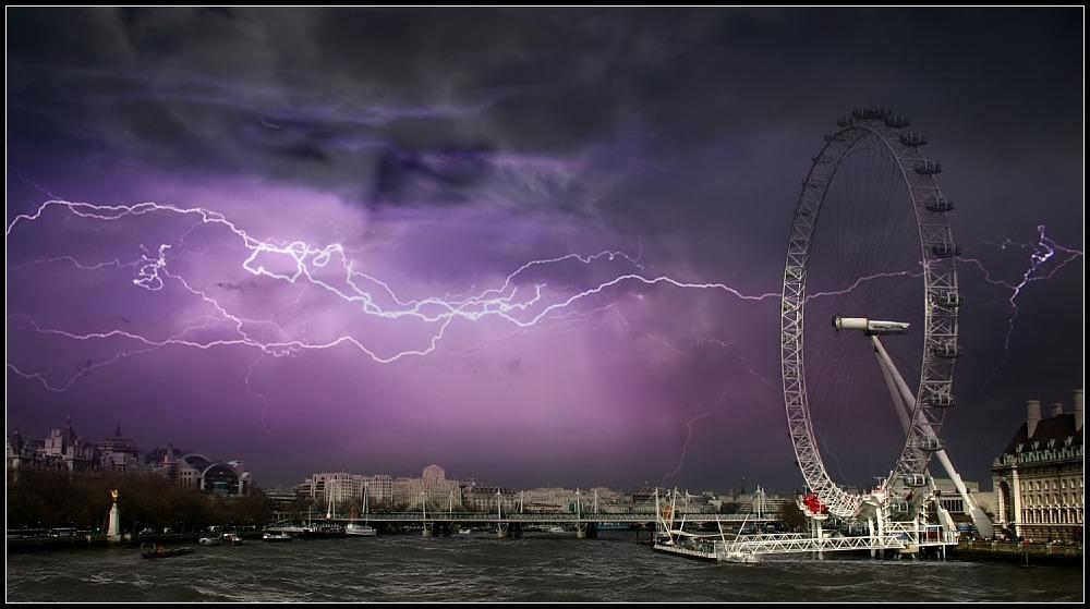 Beast over London
