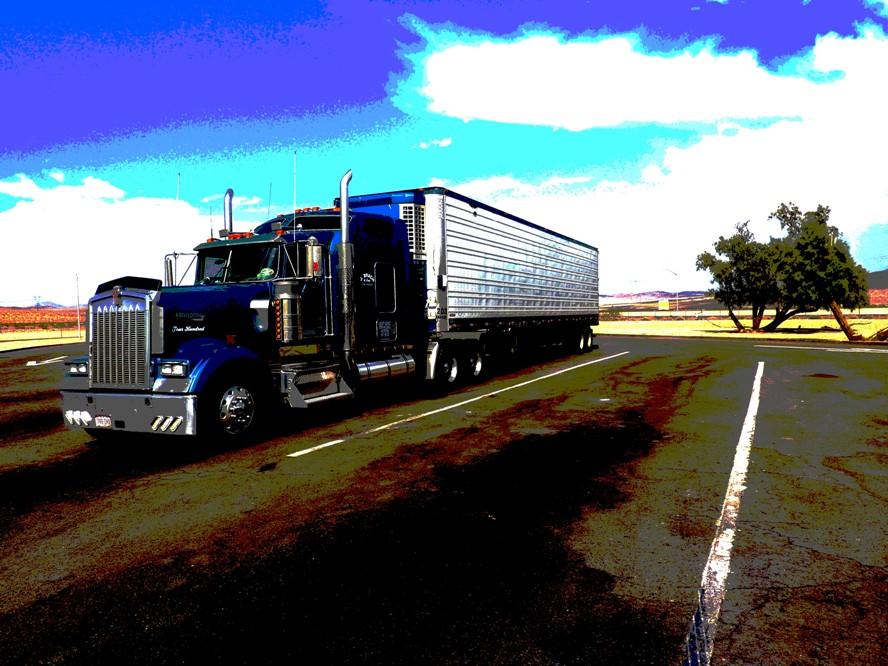 beau: comme un camion !