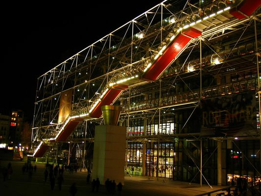 Beaubourg by night
