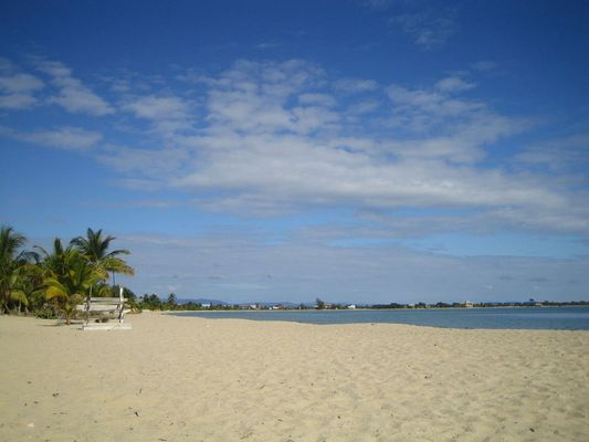 beautiful beach in Belize