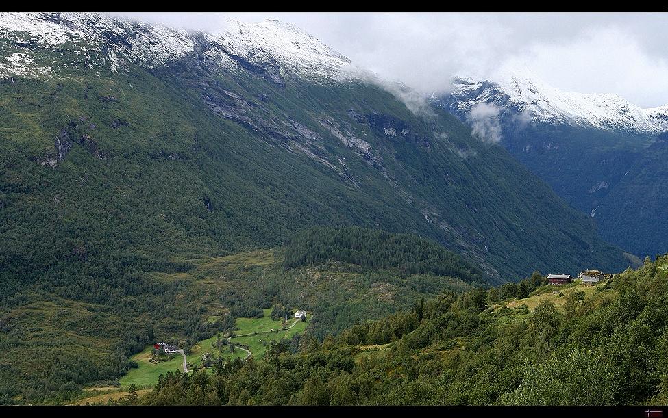 Beautiful Geiranger Valley