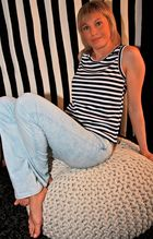 ... beautiful striped Franziska ...
