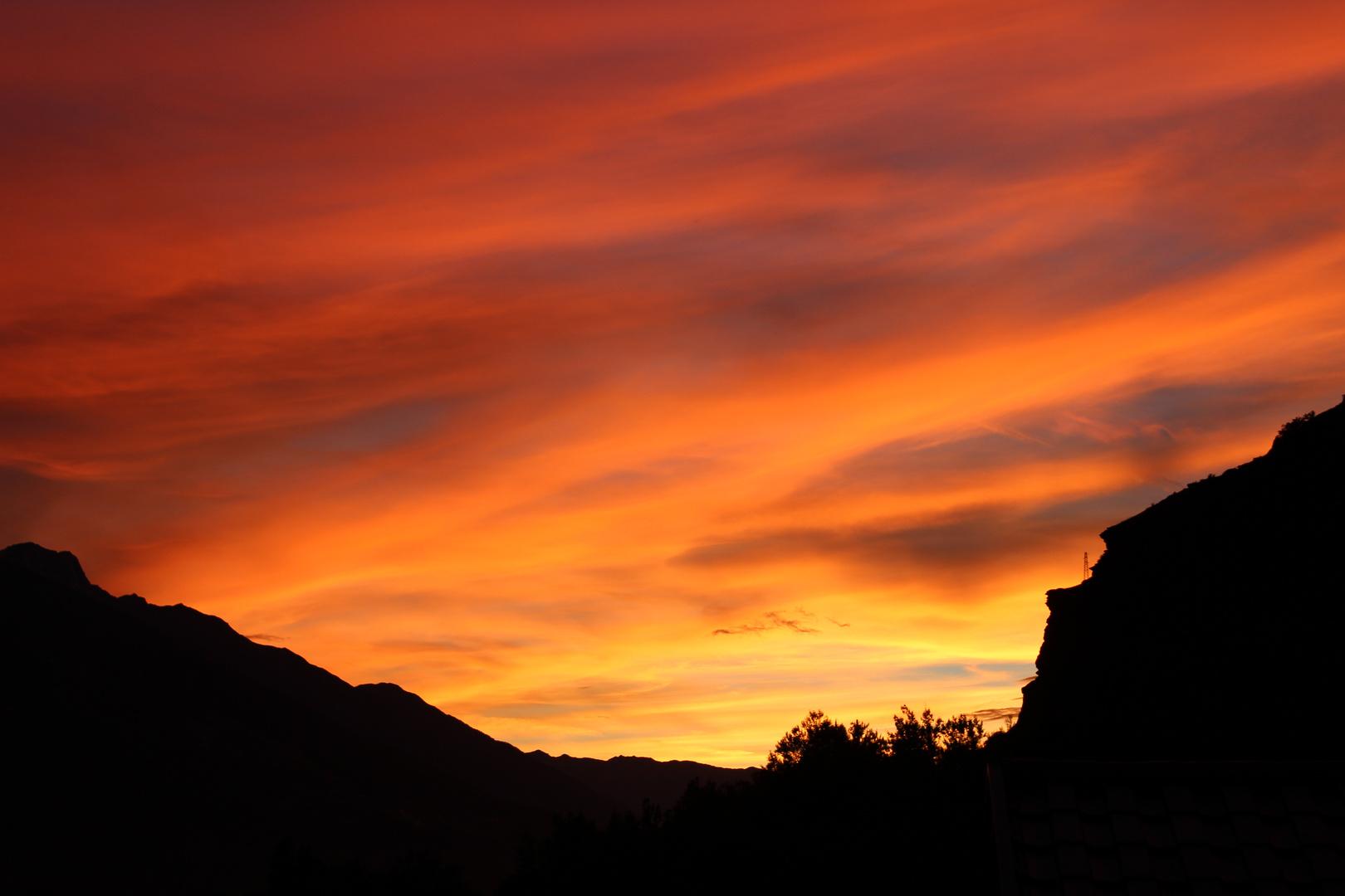 beautiful sunset (: