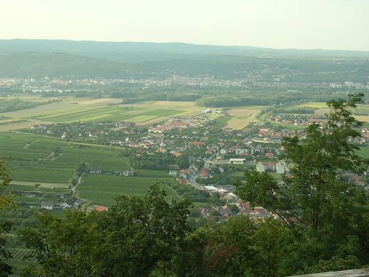 Beautiful view over Stein and Krems!