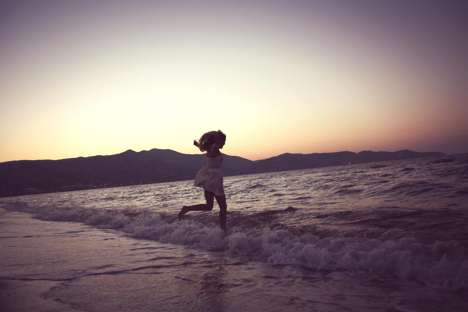 Beautifull Sunset at the Sea