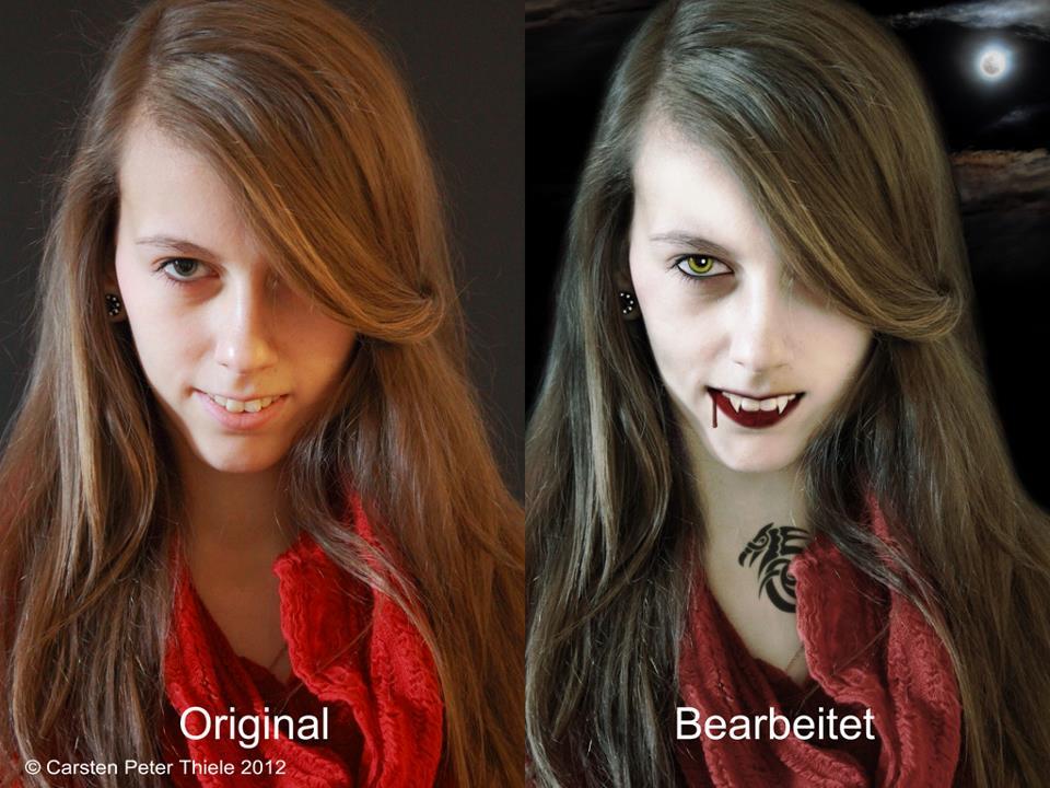 Beauty Vamp - Make off