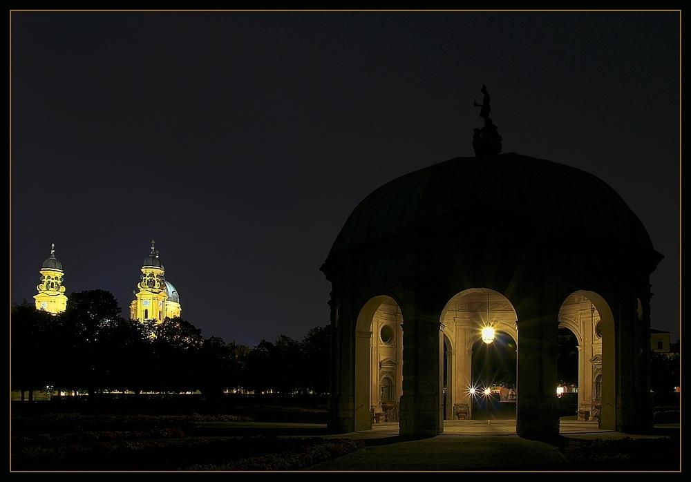 Beautyful Munich at night Part  VIII