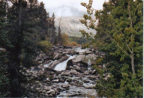 Beaver Falls - Yukon Territory