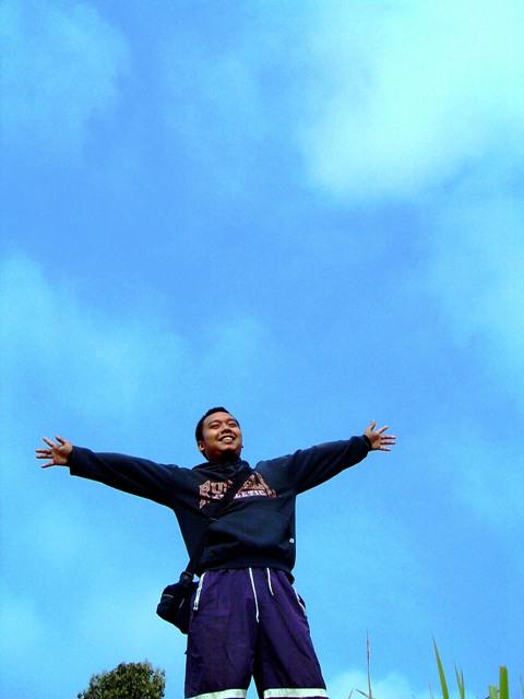 bebas, aku ingin terbang bebas