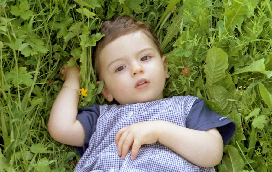Bébé chlorophyle