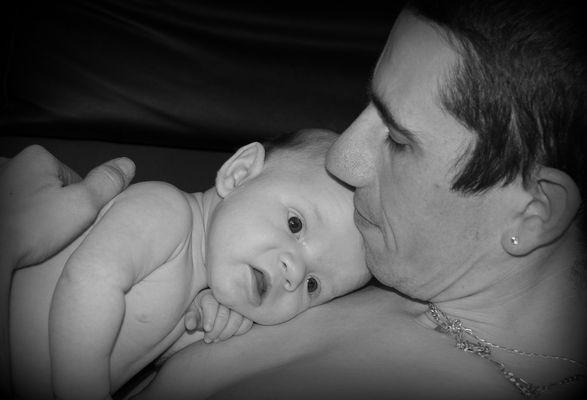 Bébé et papa 2