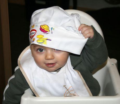 Bébé Top chef...