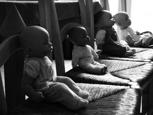 bébés spéctateurs