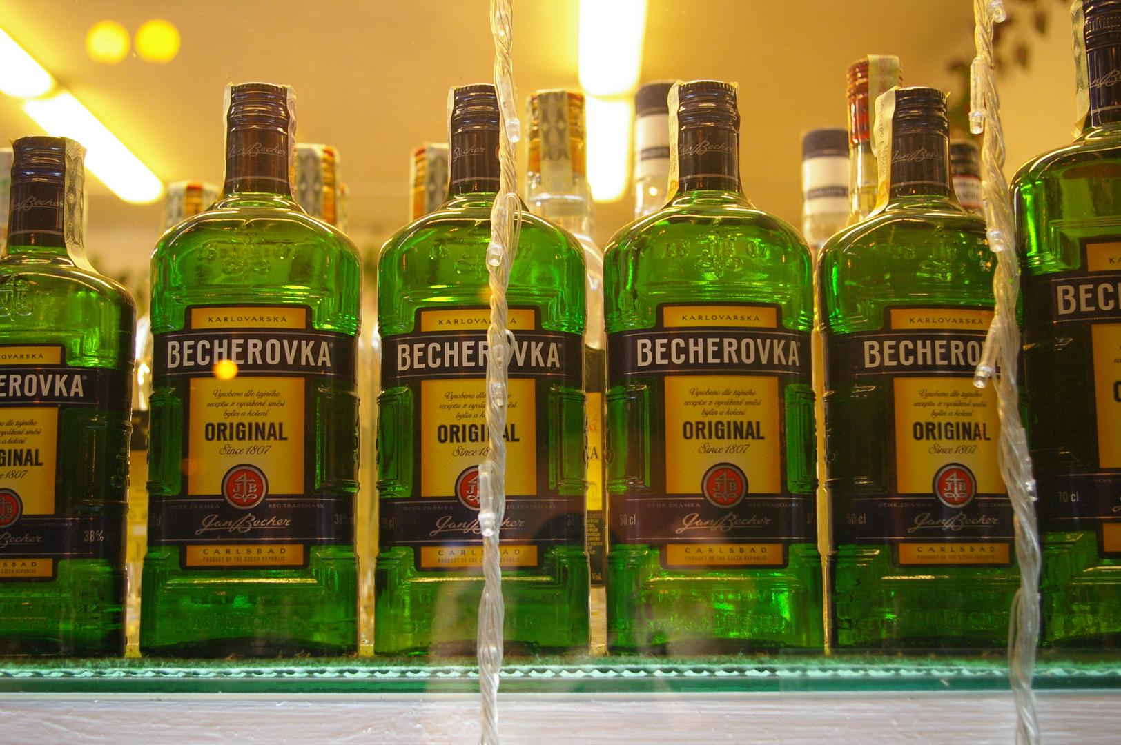 Becherovka, das Original