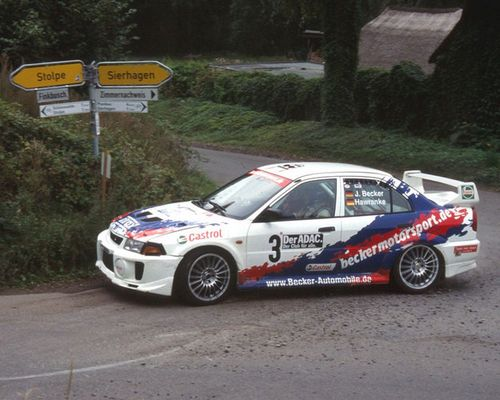 Becker/Hawranke - Neustadt Rallye 2004