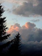Bedrohliche Wolkenformation