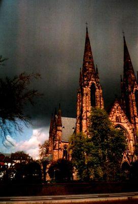 Bedrohlicher Himmel über Strasbourg2