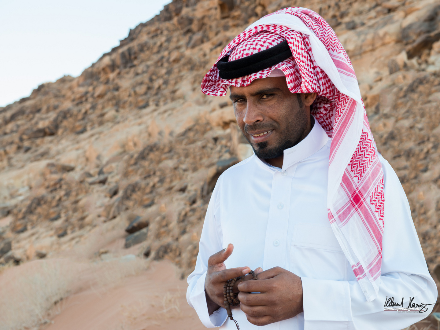 Beduine in Jordanien