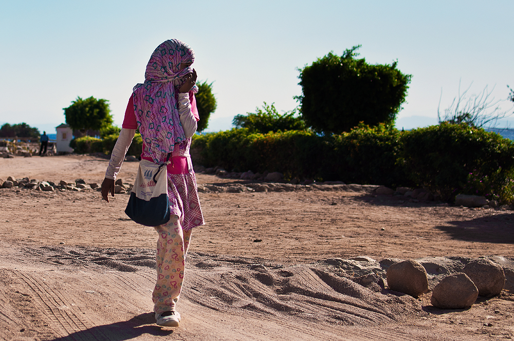 Beduinen-Mädchen Dahab