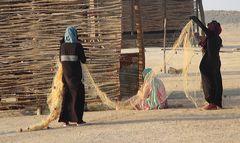 Beduinenfrauen am Rotenmeer