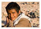 Beduinenjunge, neulich in Ägypten