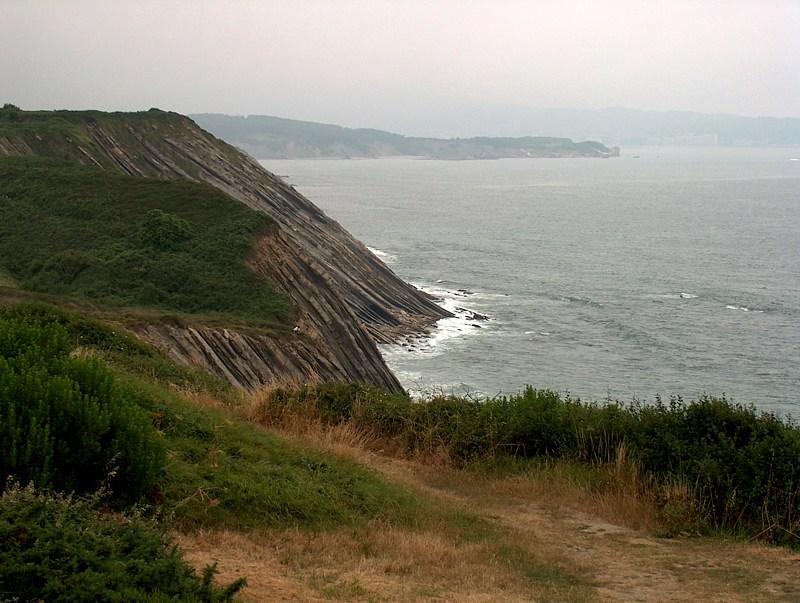 beeindruckende Felsküste