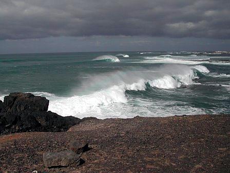 Beeindruckende Wellen