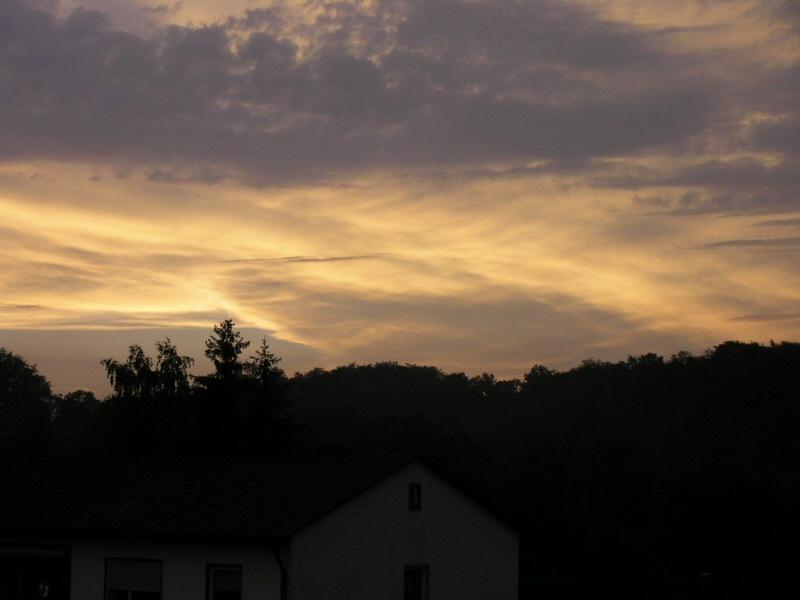 beeindruckender Himmel