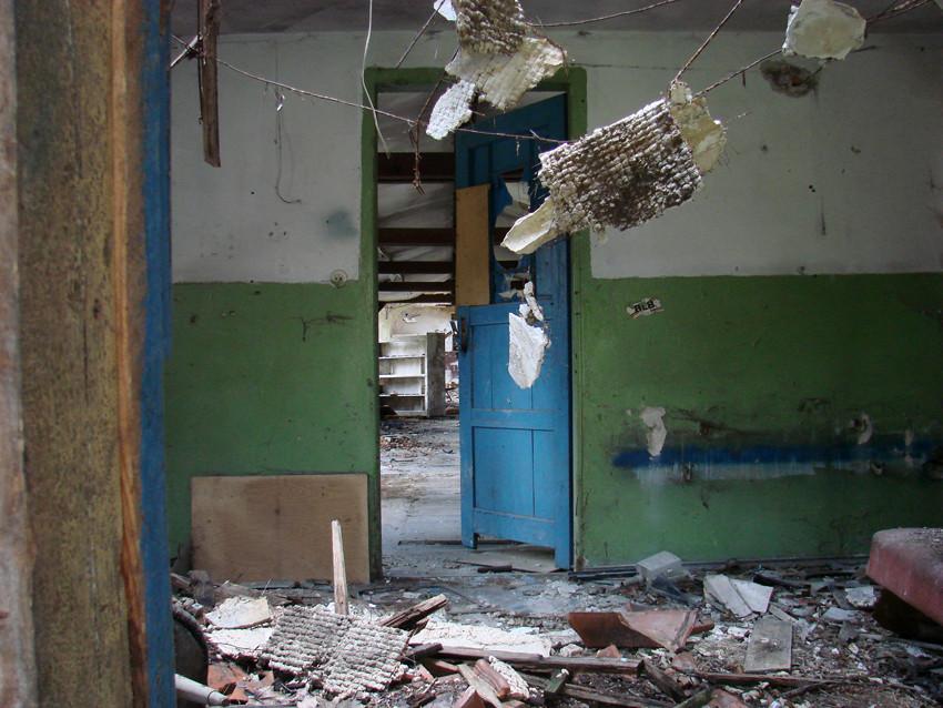 Beelitz 76 – Das Innere eines kleineren Gebäudes