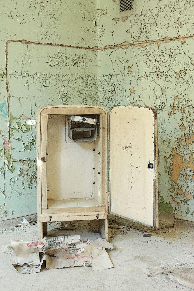 beelitz heilst tten alter k hlschrank foto bild. Black Bedroom Furniture Sets. Home Design Ideas