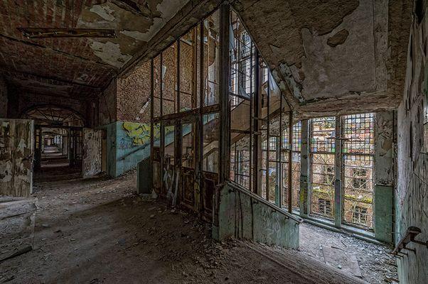 Beelitz Heilstätten - Aufzugtreppenhaus