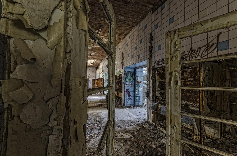 Beelitz Heilstätten - der Gang zum OP