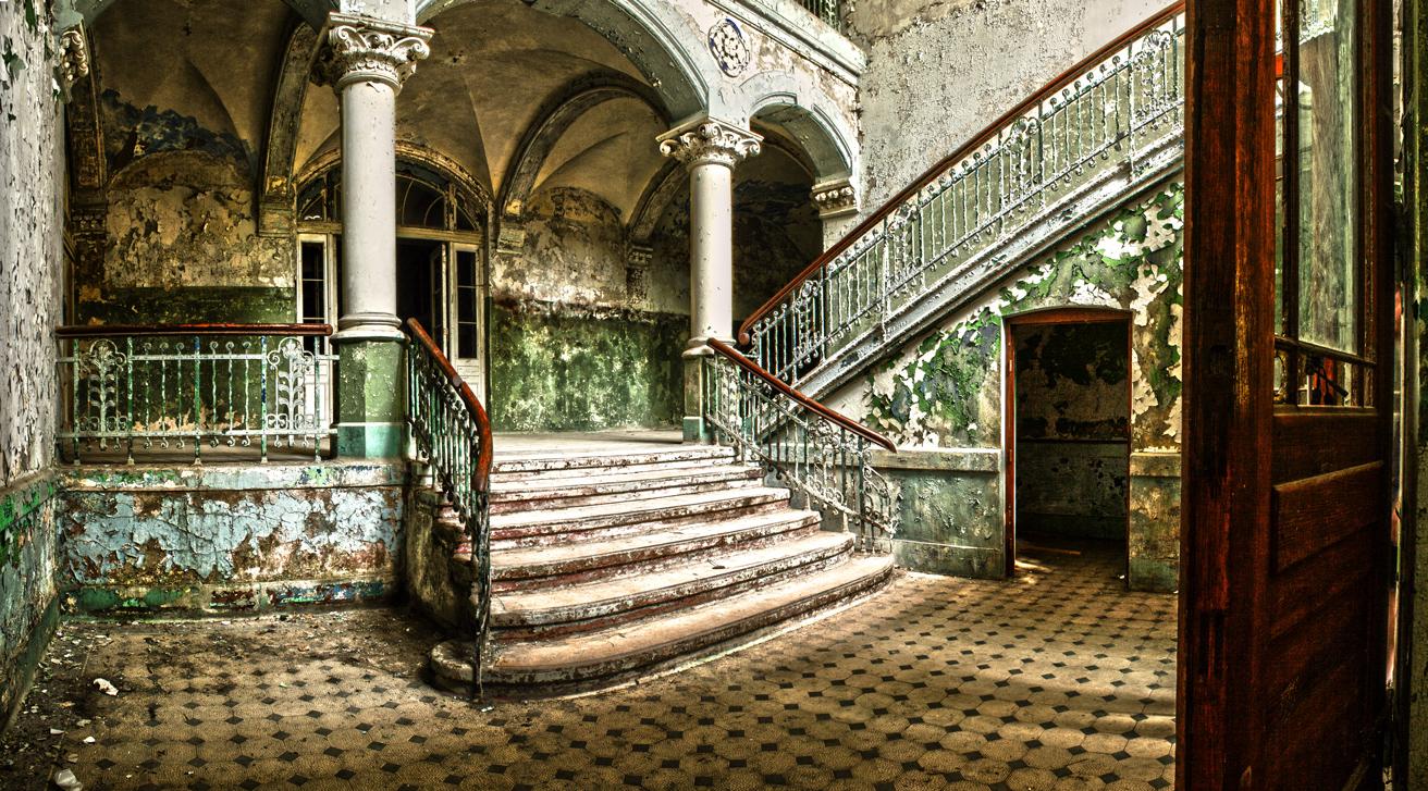Beelitz Heilstätten Eingang