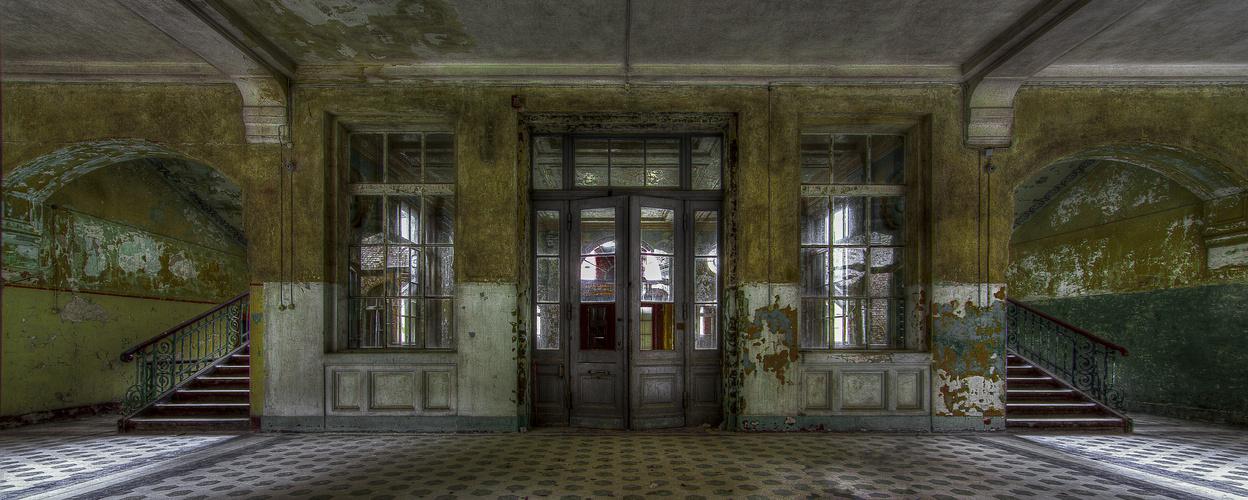 Beelitz Heilstätten Flur HDR