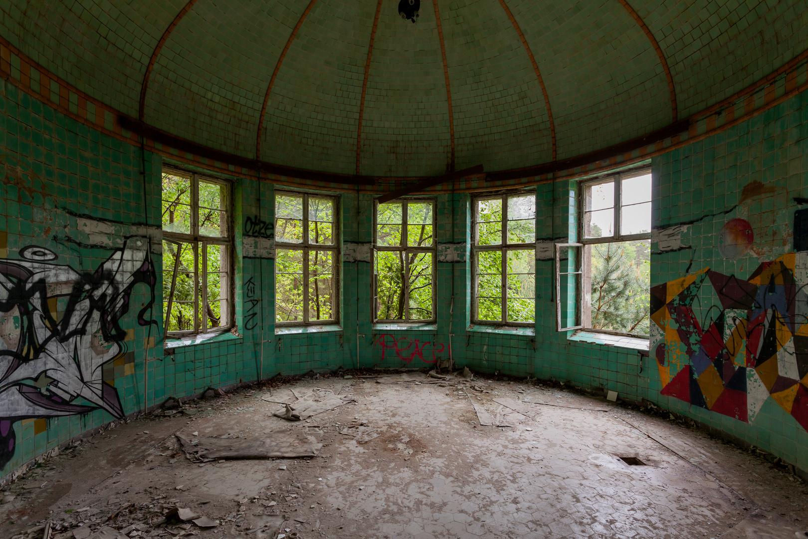 Beelitz Heilstätten - Frauenlungenheilstätte Chirurgie (4)