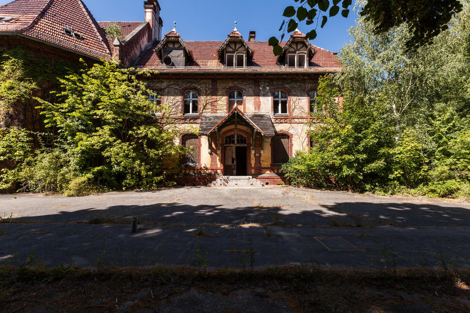 Beelitz Heilstätten - Frauensanatorium (12)
