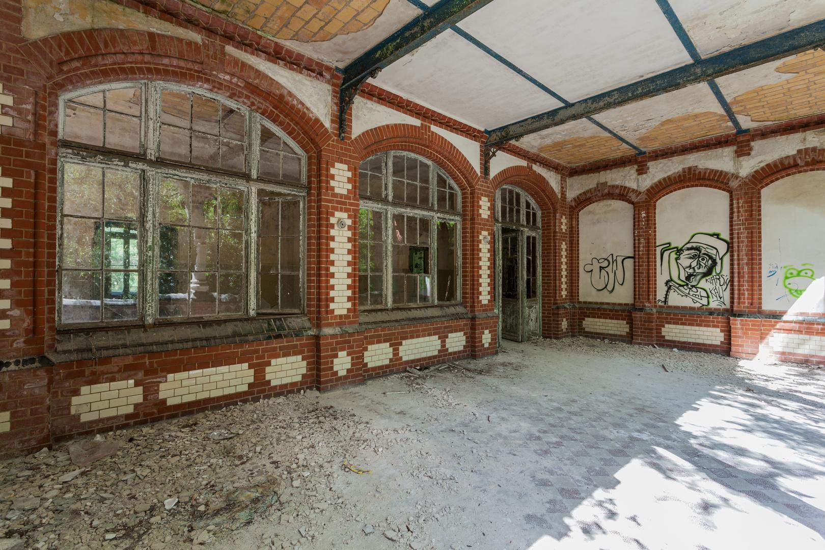 Beelitz Heilstätten - Frauensanatorium (15)