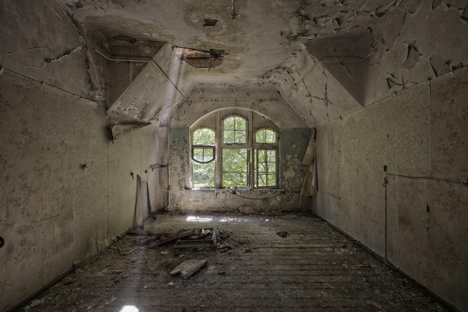 Beelitz Heilstätten - Frauensanatorium (35)