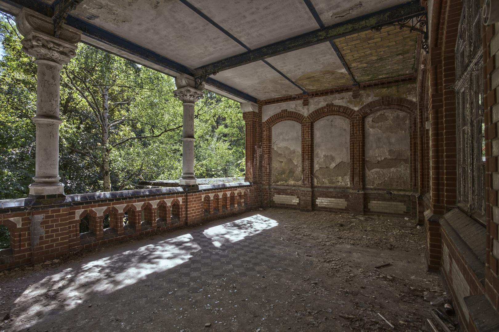 Beelitz Heilstätten - Frauensanatorium (56)