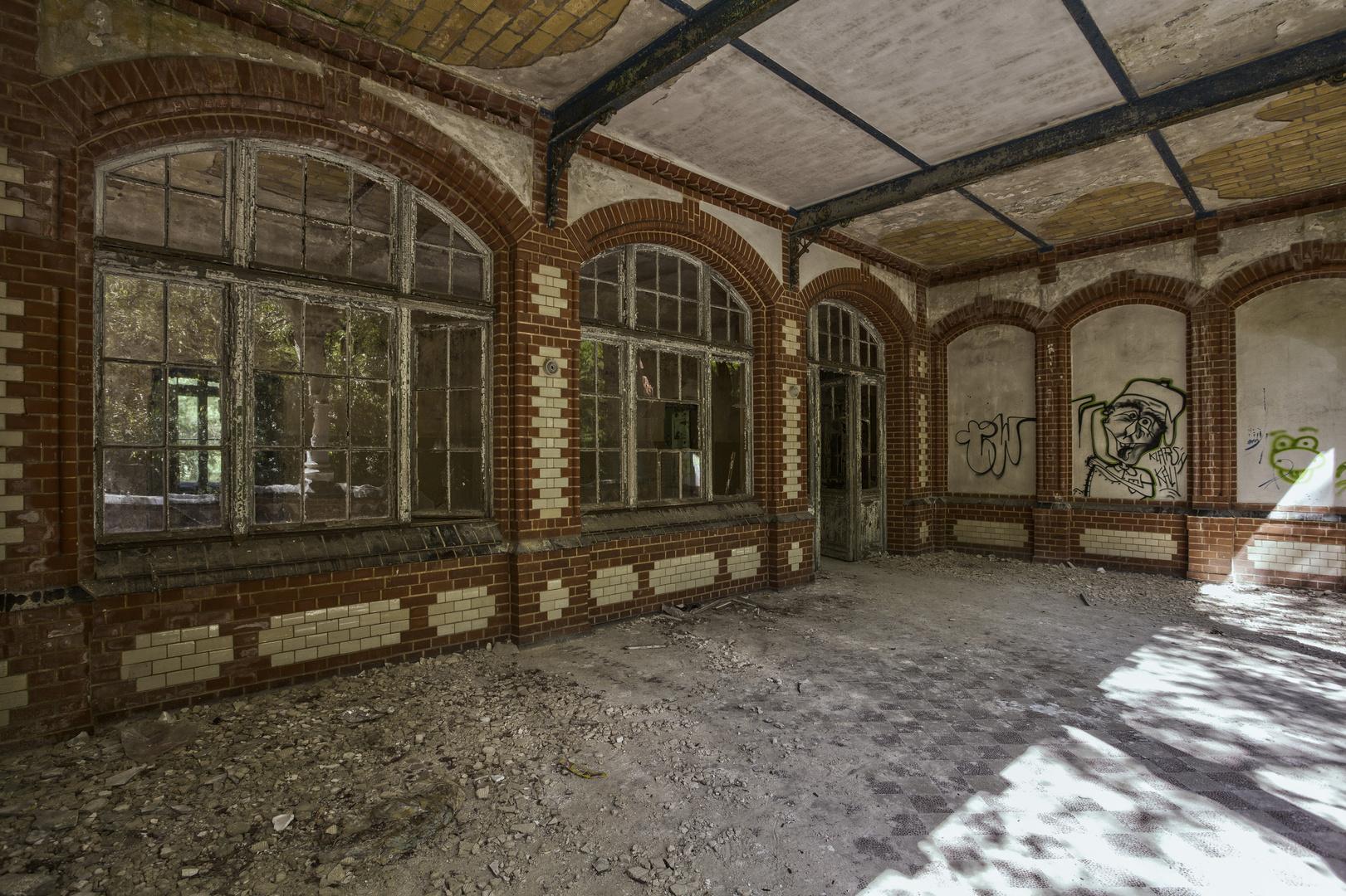 Beelitz Heilstätten - Frauensanatorium (57)