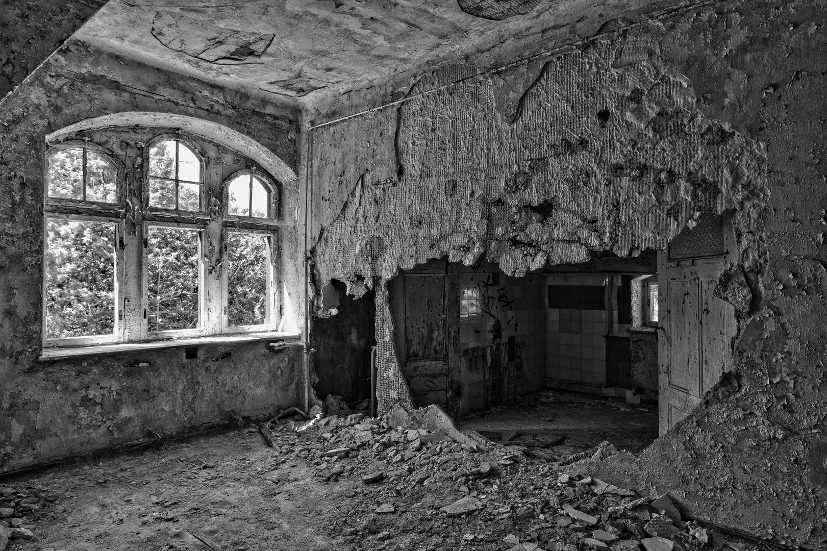 Beelitz Heilstätten - Frauensanatorium (64)