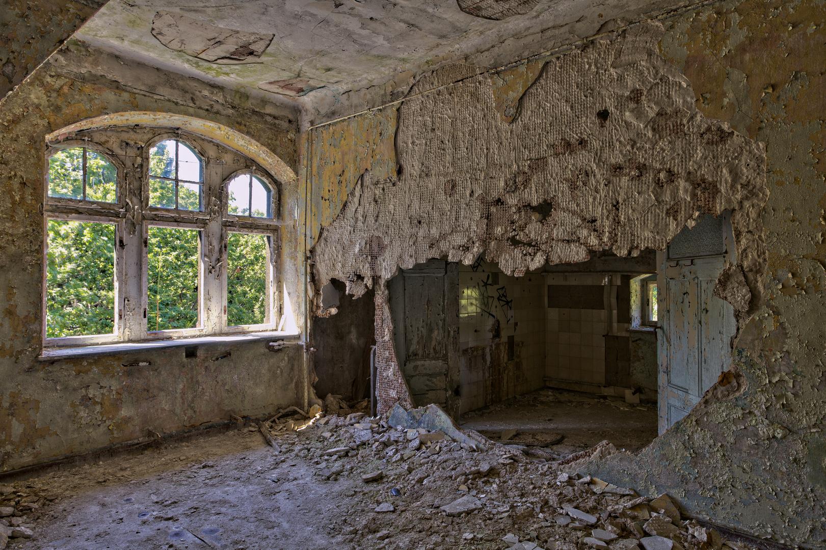 Beelitz Heilstätten - Frauensanatorium (65)