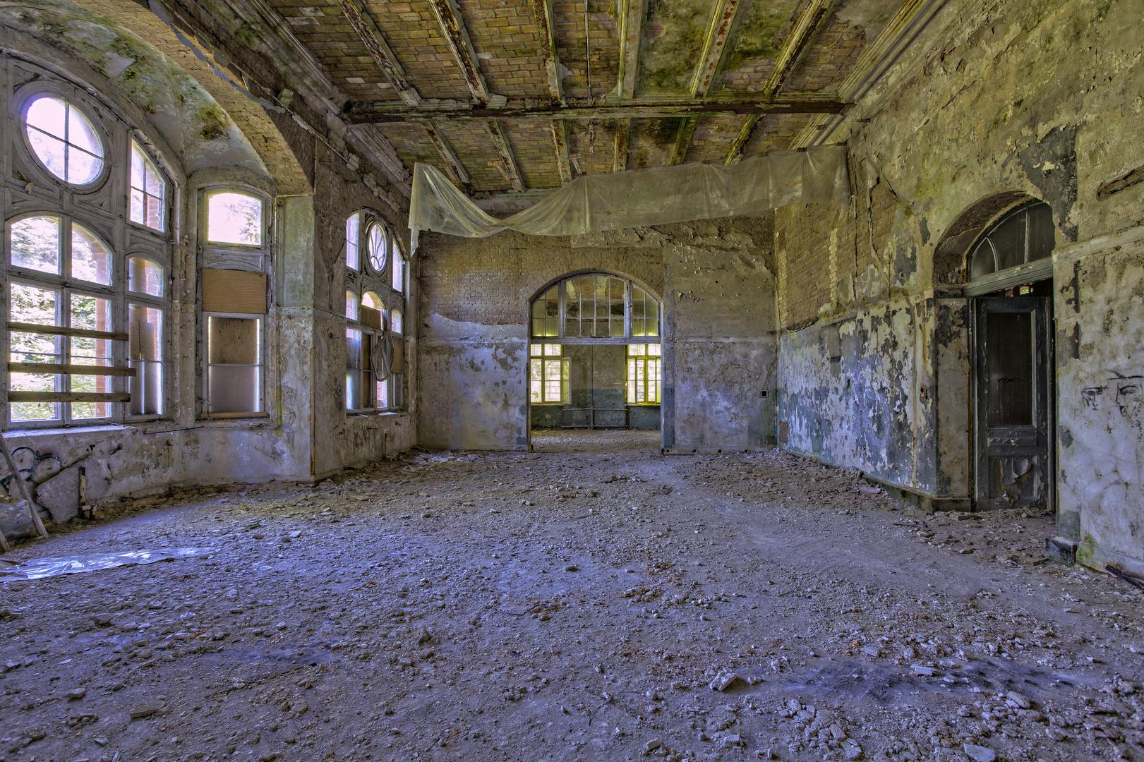 Beelitz Heilstätten - Frauensanatorium (81)