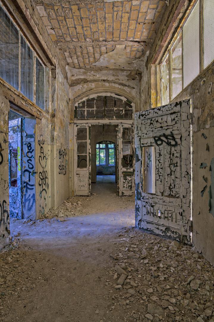 Beelitz Heilstätten - Frauensanatorium (86)