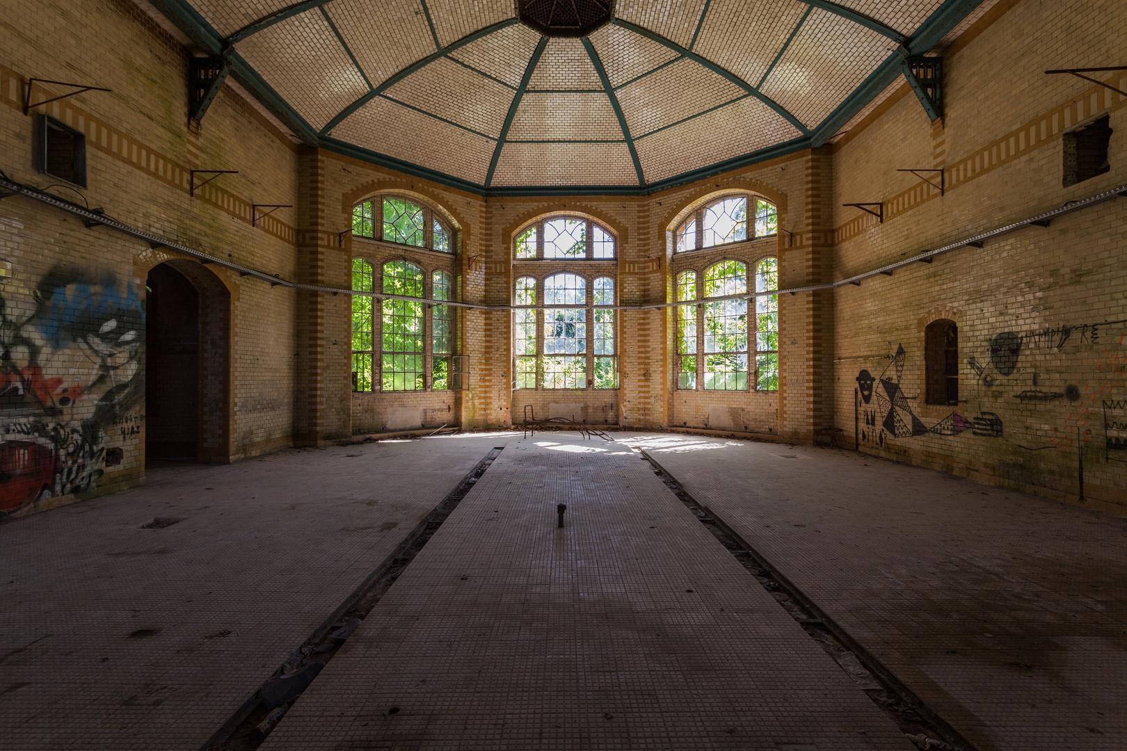 Beelitz Heilstätten - Frauensanatorium (9)