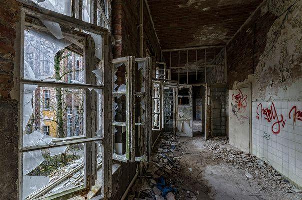 Beelitz Heilstätten - Gang
