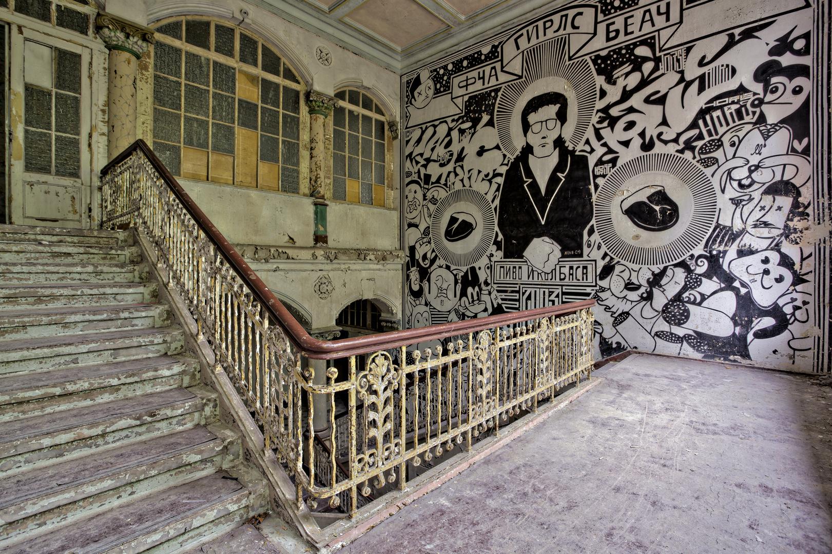 Beelitz Heilstätten - Männerlungenheilstätte Wohnpavillon (11)
