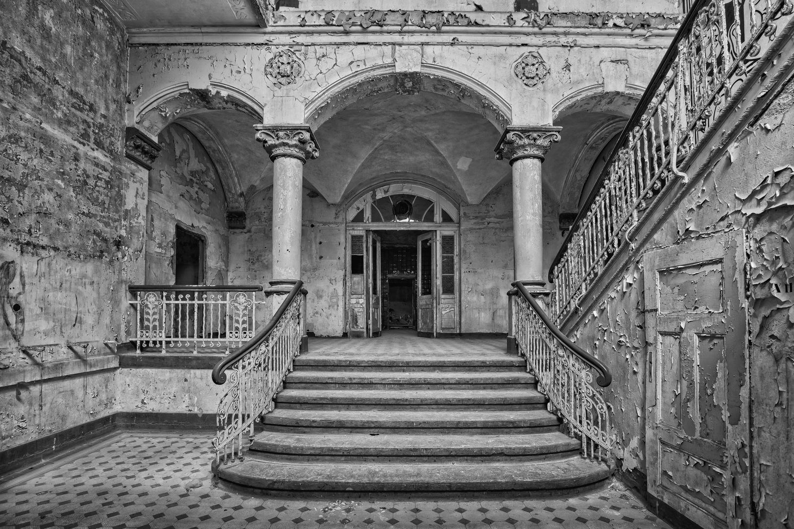 Beelitz Heilstätten - Männerlungenheilstätte Wohnpavillon (14)